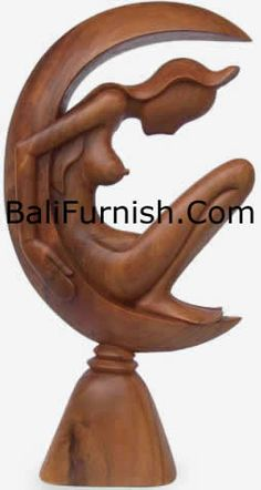 Contemporary Wood Carving from Bali Indonesia