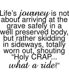 Riley & Company Funny Bones Cling Mounted Stamp Life's Journey