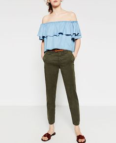 Image 5 of CHINO TROUSERS from Zara