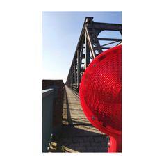 destroyed bridge - find another way #weener