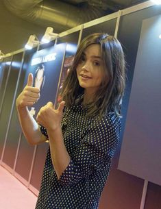 Jenna Coleman attending the Heroes Comic Con in Madrid, Spain (11.11.17)