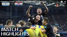 Argentina v Croatia - 2018 FIFA World Cup Russia™ - Match 23 Croatia recorded a stunning win over Argentina to book their place in the knockout rounds of the 2018 FIFA World Cup. Find out where to watch live:. World Cup Russia 2018, World Cup 2018, Fifa World Cup, Trending Today, Trending Videos, Match Highlights, Croatia, Competition, Youtube
