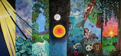 The Creation Mural (7x3m) by Selinah Bull {Selinah Art & Design} http://www.selinahartdesign.com/index2.php