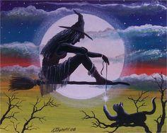 Artist Ron Byrum Ronbyrum.com | Bella Strega ~ Beautiful Witch ...