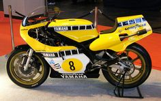 Kenny Roberts Yamaha # 8. 141108 Classic Car Show, NEC. by SARK S-W, via Flickr