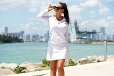Perfect look for a day on the yacht, boating, sailing style