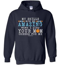 Your Mom Cheers For Me Softball Sweatshirts Youth Adult Sizes New York Basketball, Best Basketball Shoes, Basketball Gifts, Basketball Uniforms, Girls Basketball, Basketball Season, Basketball Hoop, Basketball Quotes, Basketball Cheers