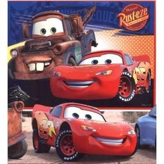 Disney Cars area rug (36x60) - would also fit in the room
