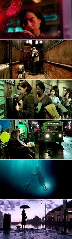 """""""It's not even human."""" """"If we do nothing, neither are we."""" // The Shape of Water (2017) dir. Guillermo del Toro"""