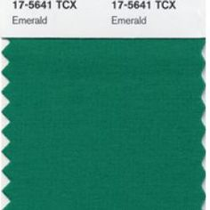 Pantone Reveals Color of the Year for 2013 - Emerald Green!