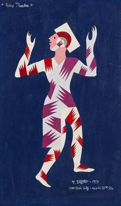 View Roxy Theatre (Costume per balletto Motolampade), By Fortunato Depero; Access more artwork lots and estimated & realized auction prices on MutualArt. Art Brochures, Retro Poster, Futurism Art, Subtractive Color, Art Deco Illustration, Vintage Graphics, Art, Vintage Graphic Design, Italian Futurism