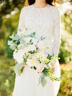 Photography: Brancoprata - brancoprata.com Wedding Dress: Daalarna - www.daalarna.hu/ Floral Design: Brancoprata - brancoprata.com   Read More on SMP: http://www.stylemepretty.com/2016/04/13/a-portugal-wedding-straight-from-a-fairytale/