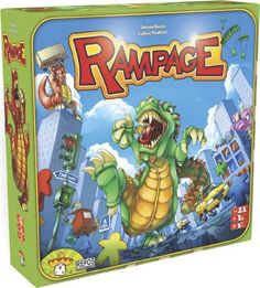 Rampage Board Game - http://geekarmory.com/rampage-board-game/