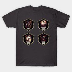 League of Legends ZED [4 in 1 set]