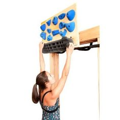 Doorway Rock Climbing Trainer- i need real walla in my apt for this
