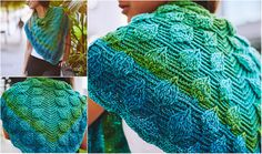 Today I have another amazing free pattern for you, this time it's a reversible scarf by Bonita Patterns.