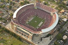 Alabama stadium after 101,821