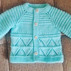 hand knitted blue baby cardigan cashmerino baby by emilyandevelyn - PIPicStats Baby Boy Knitting Patterns Free, Baby Sweater Knitting Pattern, Baby Sweater Patterns, Knit Baby Sweaters, Baby Patterns, Free Knitting, Crochet Baby Jacket, Crochet Baby Clothes, Knitted Baby