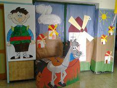 Mi clase de infantil: RECOPILATORIO DON QUIJOTE I Dom Quixote, Spanish Heritage, Drawings, Crafts, Children's Literature, Molde, Infant Crafts, Venn Diagrams, School Murals