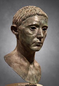 Portrait of a late Republican . About 30 B.C. /tcc/