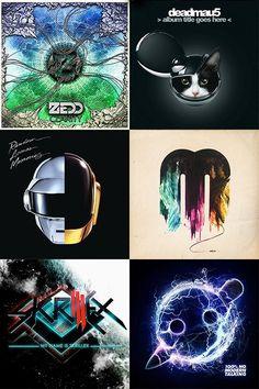 Zedd, Deadmau5, Daft Punk, Madeon, Skrillex, & Knife Party