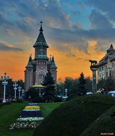 My sweet hometown! Timisoara Romania, Big Ben, Things That Bounce, Country, Building, Sweet, Travel, Beautiful, Candy
