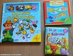 Dětské knihy tvrdé leporelo magnetické a puzzle