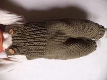 Latzhose Strampler 62/68 Merinowolle Pumphose Baby