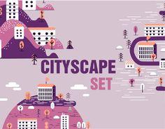 다음 @Behance 프로젝트 확인: \u201cCityScape Illustrations\u201d https://www.behance.net/gallery/46922363/CityScape-Illustrations