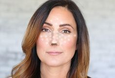 Nose contouring tips for long thin nose