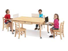 Jonti-Craft® Locking Laptop Table | Honor Roll Childcare Supply