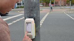 Deutschlands erste Street Pong Ampel
