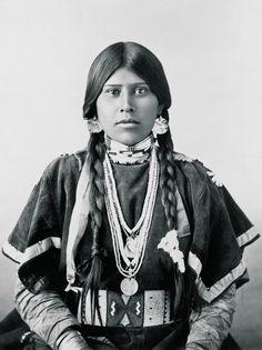 Yakima Indian Woman from  Washington State, 1899
