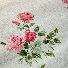 Vintage Rose wallpaper...love it