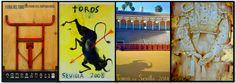 Pamplona, Sevilla, Madrid. Carteles con matiz. | EntreArtes · Juan Pedro Cano.