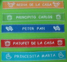 Etiquetas para marcar ropa #Labels #étiquettes #Etiquetas http://etiquetasmarcarropa.es/es/