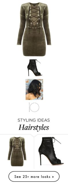"""Untitled #3455"" by twerkinonmaz on Polyvore featuring Gianvito Rossi"