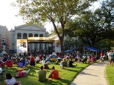 Lafayette Square is a beautiful place to spend a sunny afternoon. The park is frequently home to free concerts and celebrations, so make sure to check it out! (Photo: NolaHomes.net)