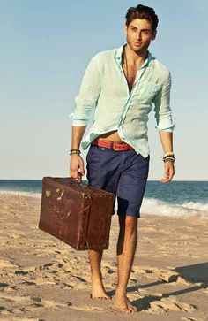 Great guy casual summer outfit!