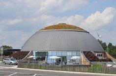 SERVICE STATION Q8, EGHEZEE, BELGIUM by VERHAEGEN Emile  #zinc #Belgium
