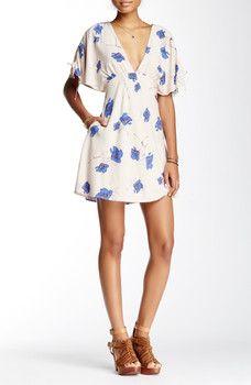 Free People - Melanie Printed Mini Dress