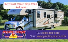 At Pacific Coast RV we stock many outstanding brands of Toy Hauler For Sale. Visit our site for the lowest prices on 5th wheels that your family will love. Call: (805) 459-1310