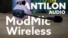 Antlion Audio ModMic Wireless – microfon atașabil Linux, Playstation, Headphones, Audio, Usb, Tech, Electronics, Pretty, Headpieces