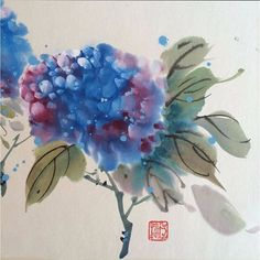 Jane Dwight, who painted this wonderful flower, will be teaching a Chinese Brush Painting course with us 10-14 Aug. It's not too late to sign up. Full details on our website: http://www.psta.org.uk/openprogramme/252/ Hosted in Chinatown by @chinaexchangeuk #ChineseArt #China #Painting #LondonCourses #Soho #CreativeLondon