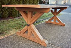 The Ironbolt Table | Do It Yourself Home Projects from Ana White
