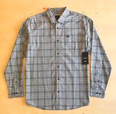 RVCA Men's Long Sleeve Button Up Shirt NWT  | eBay Button Up Shirts, Men Casual, Buttons, Long Sleeve, Sleeves, Mens Tops, Ebay, Fashion, Moda