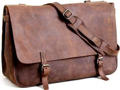 J. Crew Artisan Leather Messenger Bag on http://www.gearculture.com