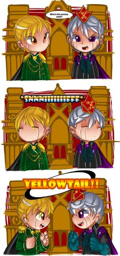 Zatch and Zeno Bell in place of Anna and Elsa #ZatchBell #Frozen