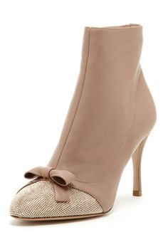 Rhintestone High Heel Bootie by Valentino