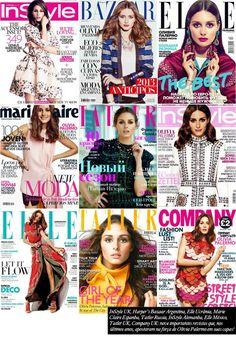 Os motivos que fazem Olivia Palermo ser a estrela de capas de revistas em todo o planeta